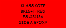 Bright Red - FS 31136