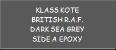 British R.A.F. Dark Sea Grey