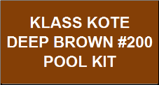 Deep Brown Pool Kit