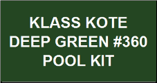 Deep Green Pool Kit