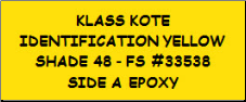 Identification Yellow - Shade 48 - FS 33538