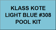 Light Blue Pool Kit