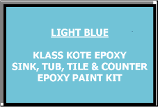 Light Blue Bathtub Painting Kit