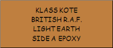 British R.A.F. Light Earth
