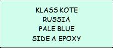 Russia Pale Blue