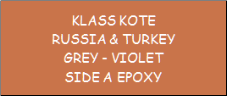 Russia & Turkey Grey - Violet