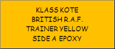 British R.A.F. Trainer Yellow