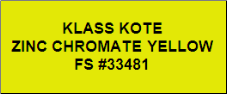 Zinc Chromate Yellow - FS #33481